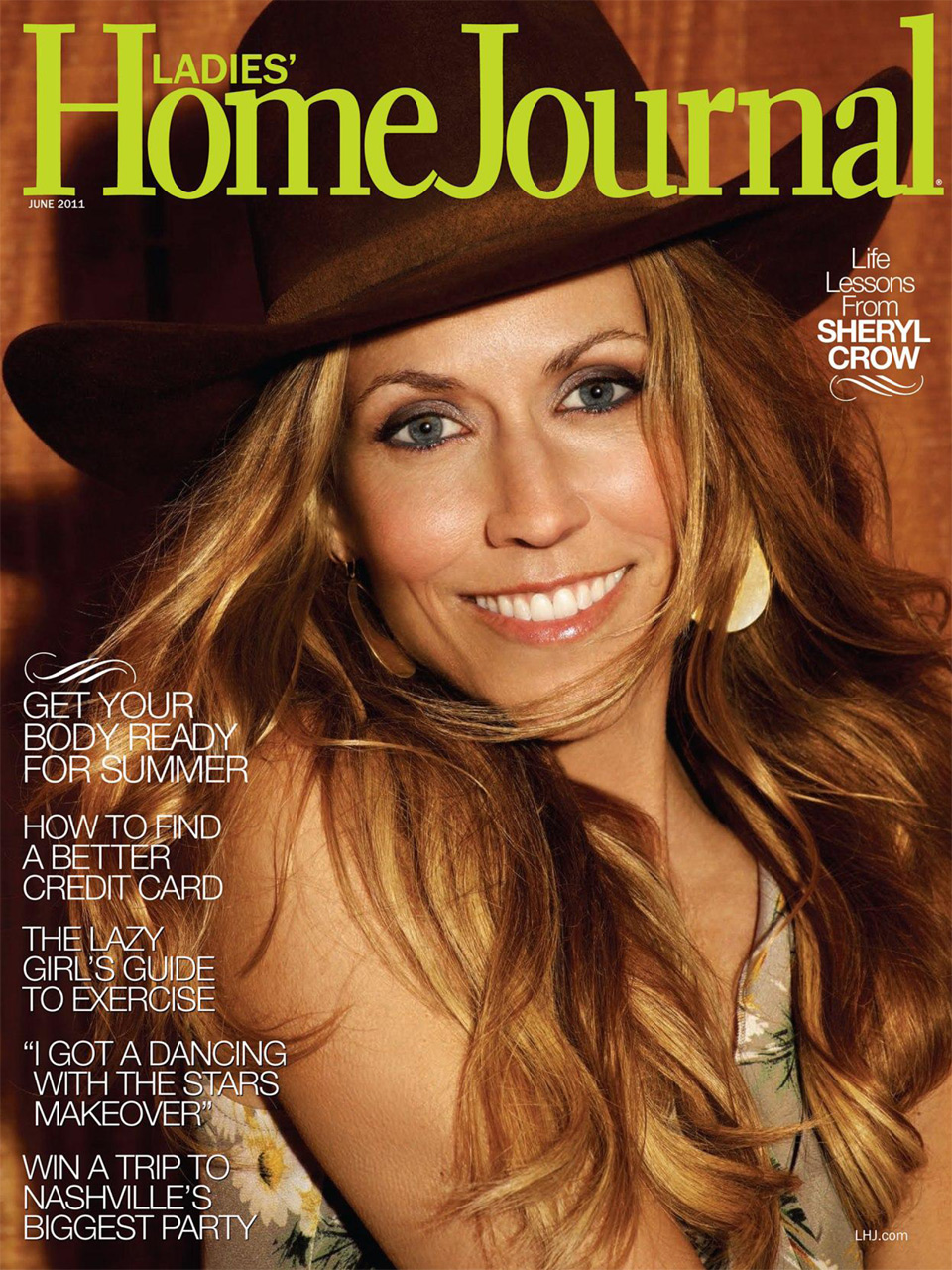Magazine] Sheryl Crow on Ladies\' Home Journal (June 2011 issue ...